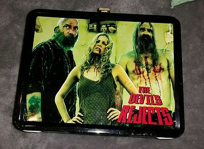 THE DEVILS REJECTS Lunchbox 2005 Neca ROB ZOMBIE Horror Hot Topic RARE HTF
