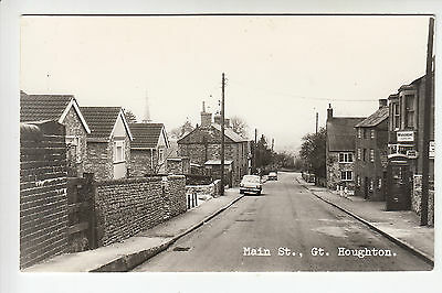Northamptonshire: Main Street, Great Houghton - Midland View RP PC (735)