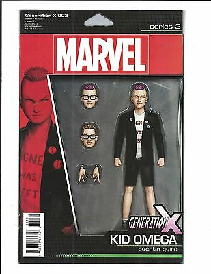 Generation X # 2 (Kid Omega Action Figure Variant, July 2017), Nm New