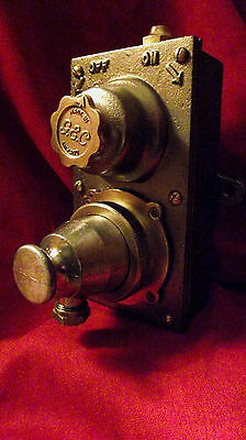 "Vintage Industrial Light Switch with Socket and Plug ""G.E.C."" SHORT DISCOUNT!!!!"