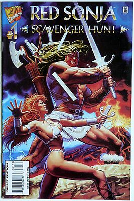 Red Sonja Scavenger Hunt 1 Marvel Comics Glenn Herdling Ken Lashley