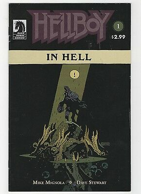 Hellboy in Hell #1 - The Descent (May 2014, Dark Horse)