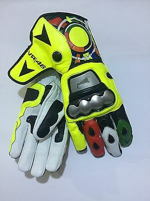 Valentino Rossi Racing Motorbike Leather Gloves
