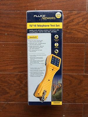 Fluke Networks TS 19 Telephone Test Set 19800HD9 NEW UNOPENED FREE SHIPPING US48