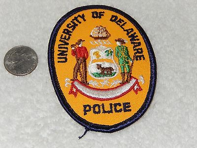 University Of Delaware Police  Patch  College   School