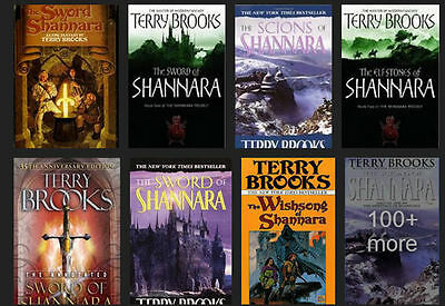 18 Audiobooks - The Shannara Complete Series By Terry Brooks Unabridged Mp3  The