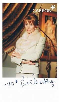 Jane Asher Actress Hand Signed Photograph + Letter