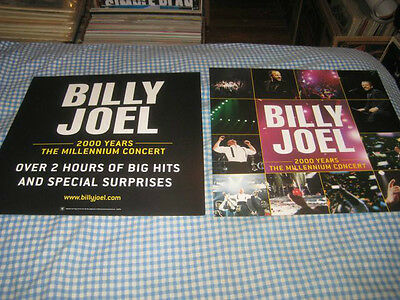 BILLY JOEL-(the essential)-1 POSTER FLAT-2 SIDED-12X12-RARE