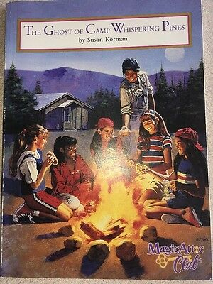 Magic Attic Club Book - The Ghost Of Camp Whispering Pines