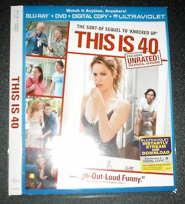 This Is 40 Blu-Ray Slipcover Sleeve (US) NO MOVIE SLIPCOVER ONLY