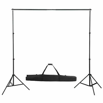 Telescopic Portable Background Backdrop Support System✓