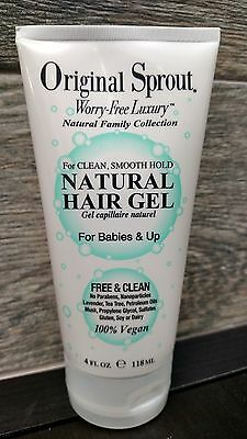 Original Sprout Natural Hair Gel For Babies & Up   4 fl. oz.