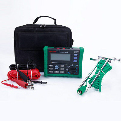 MASTECH MS2302 Professional Digital Earth Resistance Voltage Meter Tester