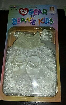 New in Package Ty Gear for Beanie Kids Bride Wedding Dress Vail and Shoes