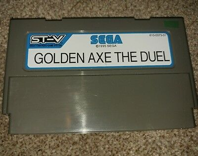 sega st-v TITAN stv Golden Axe The Duel  |VERY RARE & HARD TO FIND|
