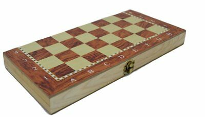 30x30Cm Classic Wooden Exquisite & easy carry Chess Set Folding Game Board