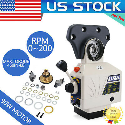US!ALSGS Power Feed for Vertical Milling Machine 110V 220V X Y Axis AL-310SX