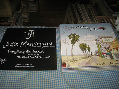 JACK'S MANNEQUIN-(everything in transit)-1 POSTER FLAT-2 SIDED-12X12-NMINT-RARE