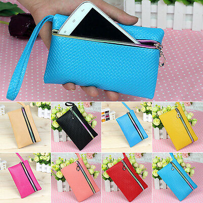 2017 Womens Card Holder Wallet Coin Purse Clutch Zipper Leather Small Change Bag