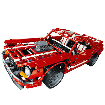 Muscle Car model Ford Mustang Shelby GT 500 Lego Technic like -PRESALE- No box