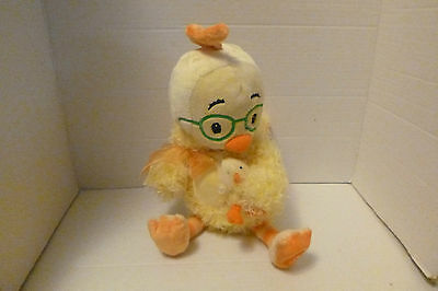 Disney Chicken Little in Chick Costume Holding Baby Duck Plush Easter N/TAG