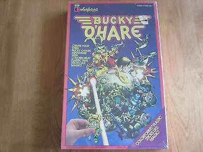 BUCKY O'HARE Colorforms Adventure Play Set Vintage 1991 Classic RARE unopened