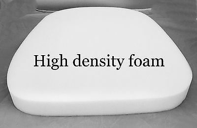 "Foam Upholstery 2"" Thick, 16"" Wide x 16"" Long High Density chair cushion"