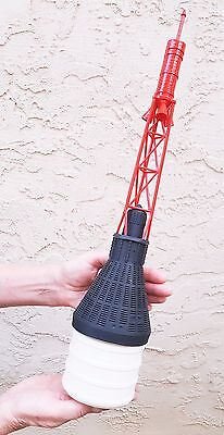 "Mercury Capsule Nose Cone 3.90"" 3D Printed ABS   *FREE SHIPPING*"