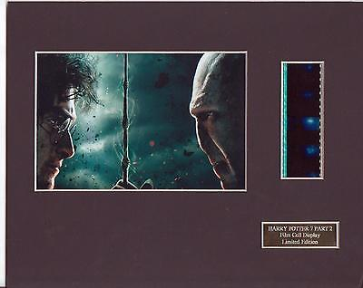 Harry Potter 7 Part 2 Film Cell  Display Limited Edition Rare