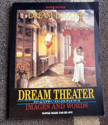 DREAM THEATER - Images and Words - Japan Band Score Guitar Tab