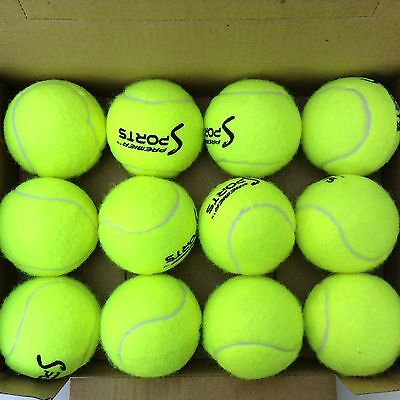 X4PC Tennis Balls Ideal for Sports, Cricket, beach, tennis Dogs loves them New