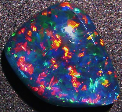 Beautiful Australian Opal Freeform Super Gem Grade Triplet