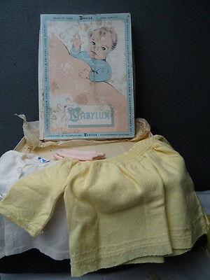 Vintage Baby Clothes Layette In Original Box