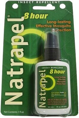 Natrapel 8 Hour Tick and Insect Repellent 20% Picaridin 29.5ml