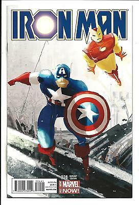Iron Man # 24 (Marvel Now, Pascal 1:20 Team-Up Variant Cover,jun 2014) Nm/mt New