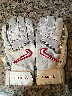 Nike Batting Gloves Extra LARGE Albert pujols Games Issued