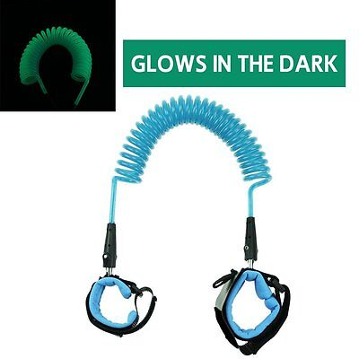 Glow in the Dark Baby Child Anti Lost Safety Wrist Link Harness Strap Rope Leash