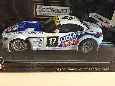 Sc-6018 Scaleauto Bmw Z4 Gt3 24 Hour Dubai 2011 Slot Car 1/32