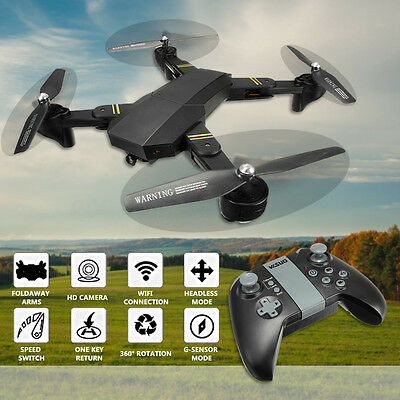 VISUO XS809HW WIFI FPV With Camera High Hold Mode Foldable Arm RC Quadcopter RTF