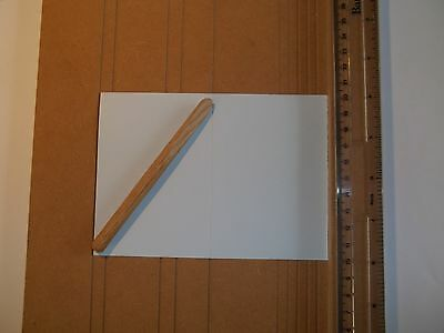 Card Creasing Board With Handmade Creasing Tool
