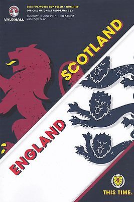 * SCOTLAND v ENGLAND (10th June 2017 - WORLD CUP QUALIFIER) *