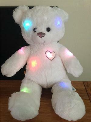 Build A Bear Factory Rare & Htf Light Up Hugs So Bright Bear