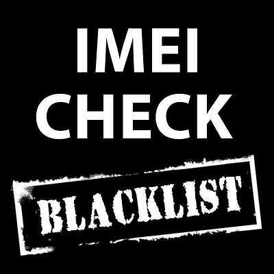 Check blacklist status info Worldwide via IMEI any device phone tablet iPhone