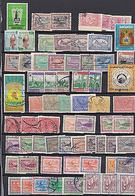 Saudi Arabia Collection / Lot Of 67 Stamps