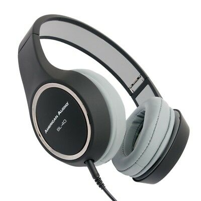 American Audio BL-40B On Ear Headphones