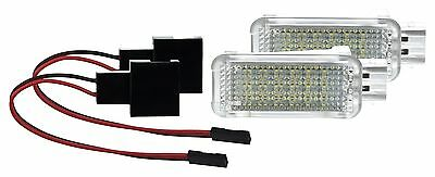 2 X LED SMD Modul Fußraumbeleuchtung Seat Leon 3 III 5F auch SC ST WEIß