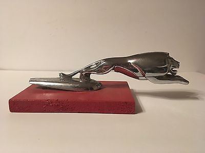 Ford Monarch Leapeing Lion Hood Ornament 1949 1950 1951