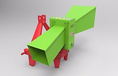 Forest Wood Chipper Timber Shredder Mulcher Woodchipper - HR 80 - 4 blades