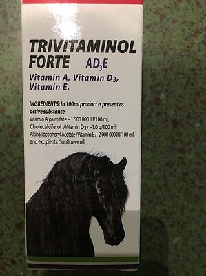 Trivitaminol 100ml fast and healthy growth helps damaged hair to recover faster