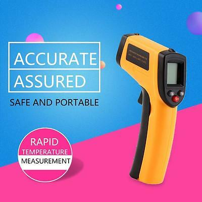Digital Non-Contact Body & Surface Temperature Gun IR Infrared Thermometer GO